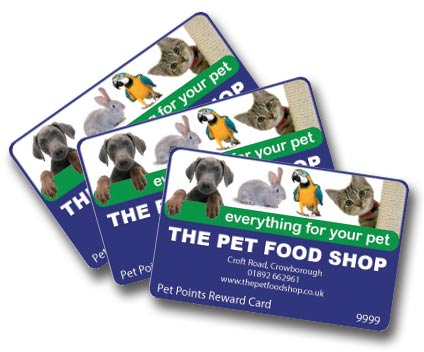 Pet Food Shop Loyalty Scheme
